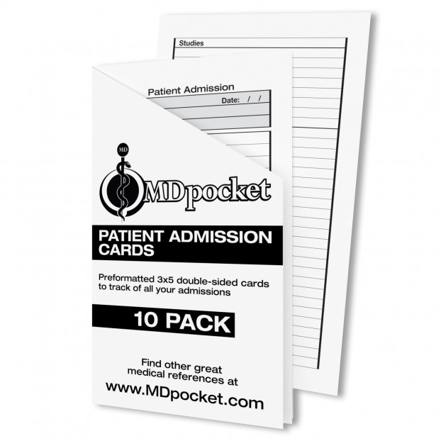 Resident Admission Cards