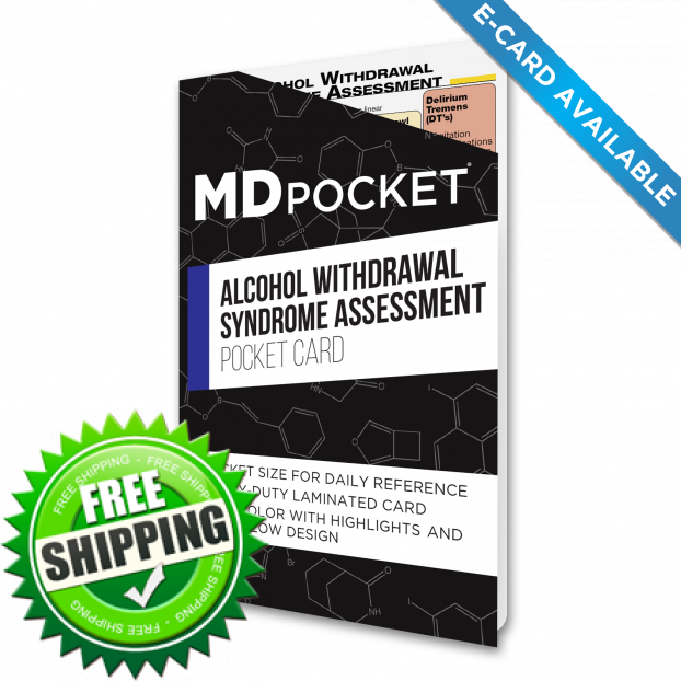 Alcohol Withdrawal Assessment Card - 2019