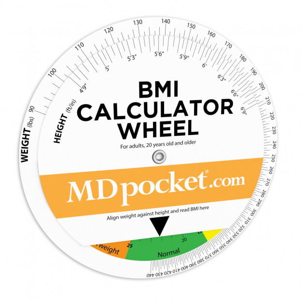 BMI Calculator Wheel