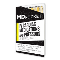 Cardiac Medications and Pressors Card