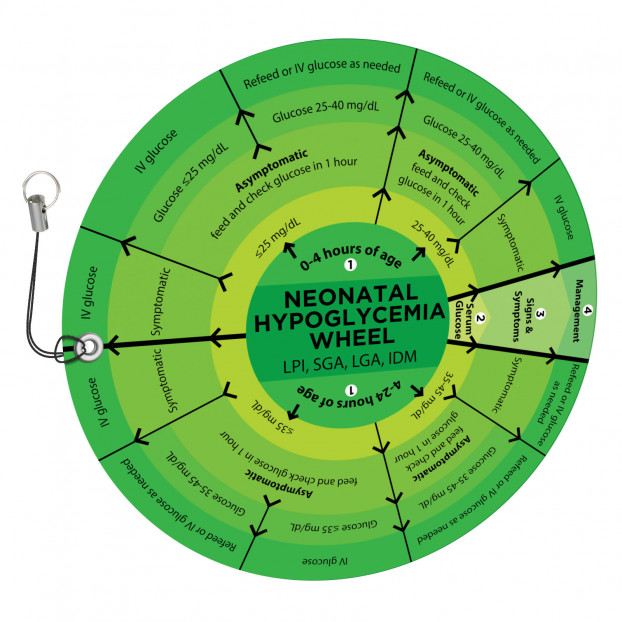 Neonatal Hypoglycemia Wheel