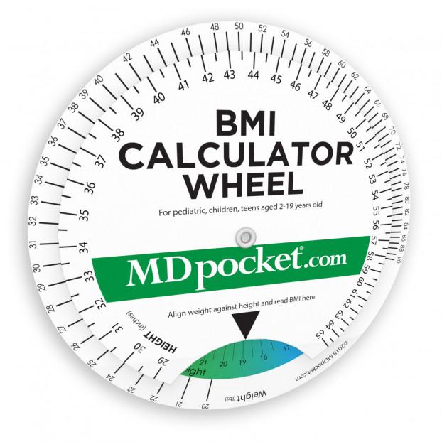 Pediatric BMI Calculator Wheel