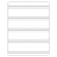 8.5 x 11 Notepad