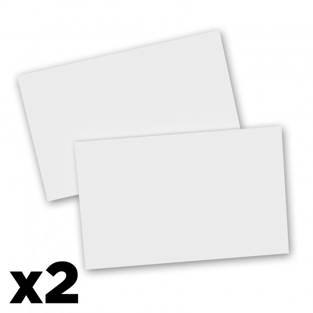 2 Pack - 8 x 5 Notepads - Blank