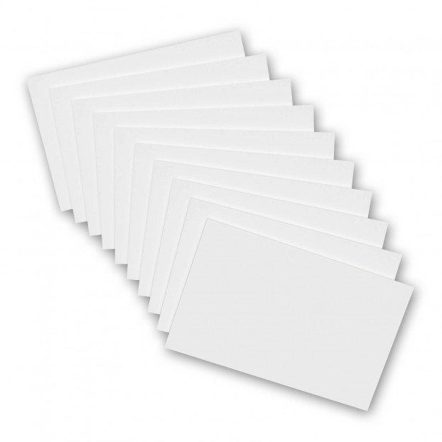 10 Pack - 8 x 5 Notepads - Blank