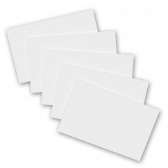 5 Pack - 8 x 5 Notepads - Blank