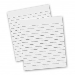2 Pack - Memo ISO Clipboard Notepads