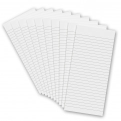 10 Pack - 3.75 x 8.25 Notepad