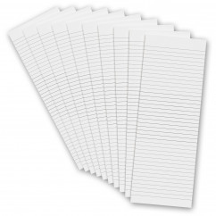 10 Pack - 3.5 x 10.25 Notepad