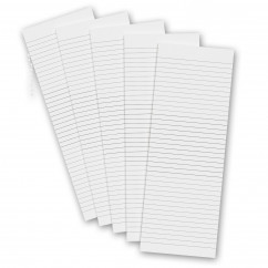 5 Pack - 3.5 x 10.25 Notepad