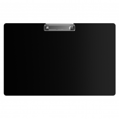 Aluminum 17 x11 Ledger Clipboard - Black