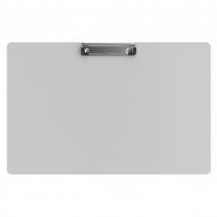 Aluminum 17 x11 Ledger Clipboard - White