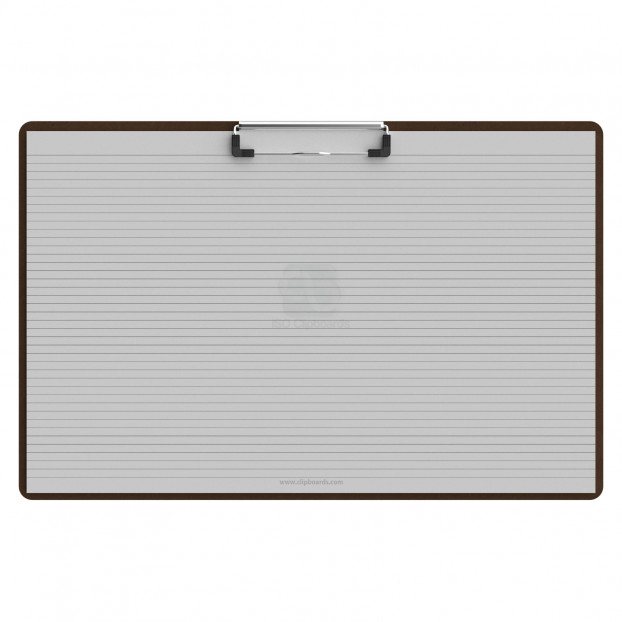 Horizontal 17 x 11 MDF Clipboard - Slightly Damaged