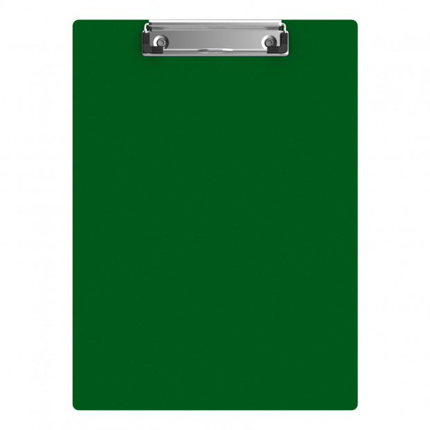 "Acrylic Letter Sized 8.5"" x 11"" Clipboard - Green"