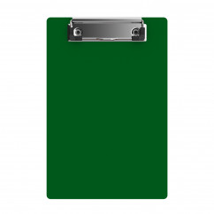 "Acrylic Memo Sized 6"" x 9"" Clipboard - Green"
