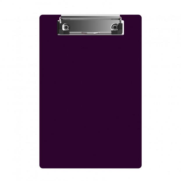 "Acrylic Memo Sized 6"" x 9"" Clipboard - Purple"