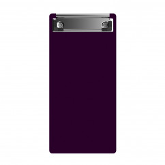 """Acrylic Server Sized 4.25"""" x 9.25"""" Clipboard - Red"""