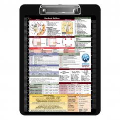 Flat Plastic Medical Clipboard