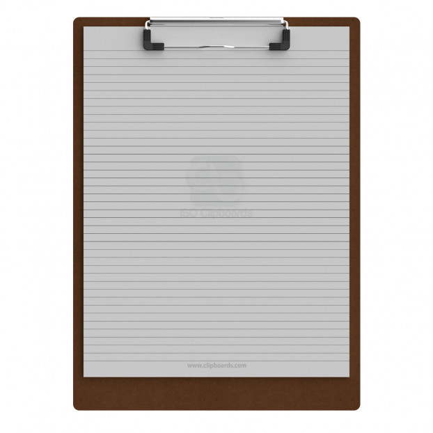 Letter Size 8.5 x 11 HDF Clipboard