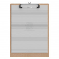 Letter Size 8.5 x 11 MDF Clipboard