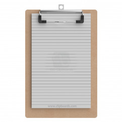 Magnetic Memo Size 5 x 8 MDF Clipboard