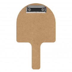 Pizza Paddle Check Presenter - MDF