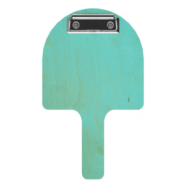 Pizza Paddle Check Presenter - Teal