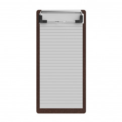 Red Mahogany MDF Server Clipboard