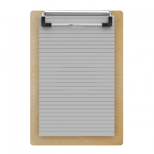 "Birch Memo Sized 5"" x 8"" Clipboard"