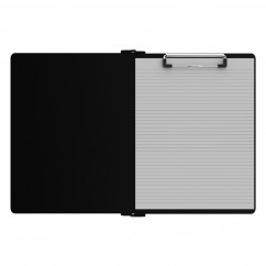 Right Folding Ledger ISO Clipboard |Black