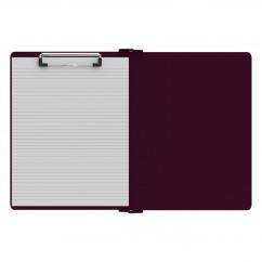Left Folding Ledger ISO Clipboard | Wine