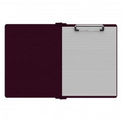 Right Folding Ledger ISO Clipboard |Wine