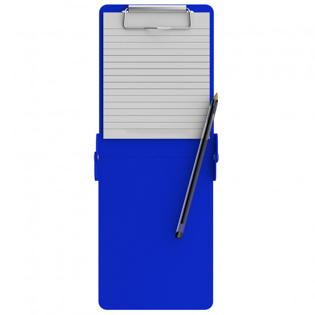 Folding Server ISO Clipboard | Blue