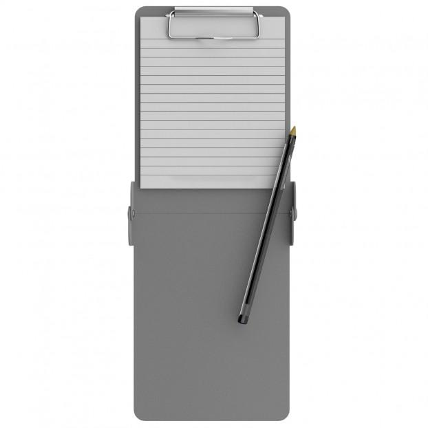 Folding Server ISO Clipboard   Silver