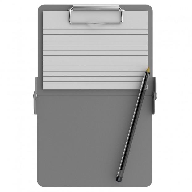 Silver Mini ISO Clipboard