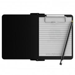 Black Mini Novel ISO Clipboard