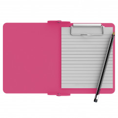 Pink Mini Novel ISO Clipboard
