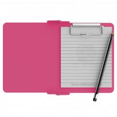 Pink Mini Novel ISO Clipboard