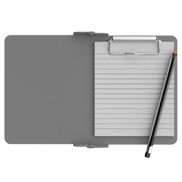 Silver Mini Novel ISO Clipboard