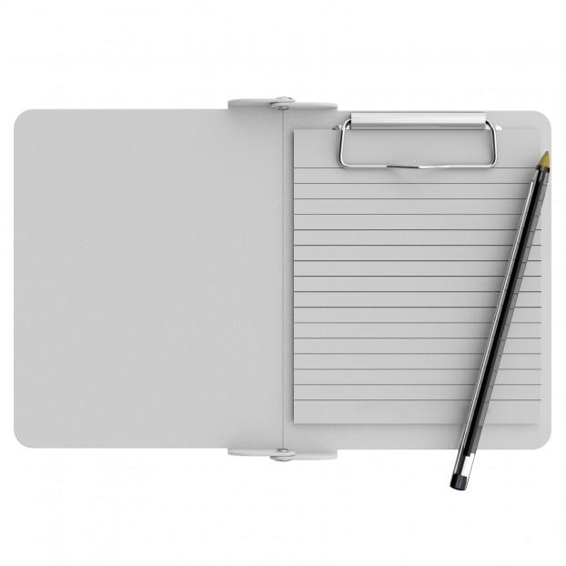White Mini Novel ISO Clipboard