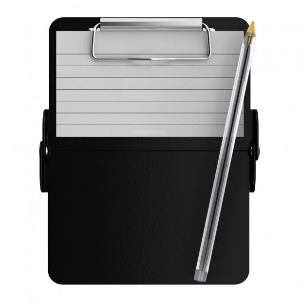 Nano ISO Clipboard | Black
