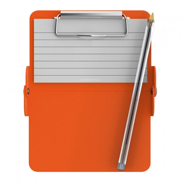 Nano ISO Clipboard | Orange