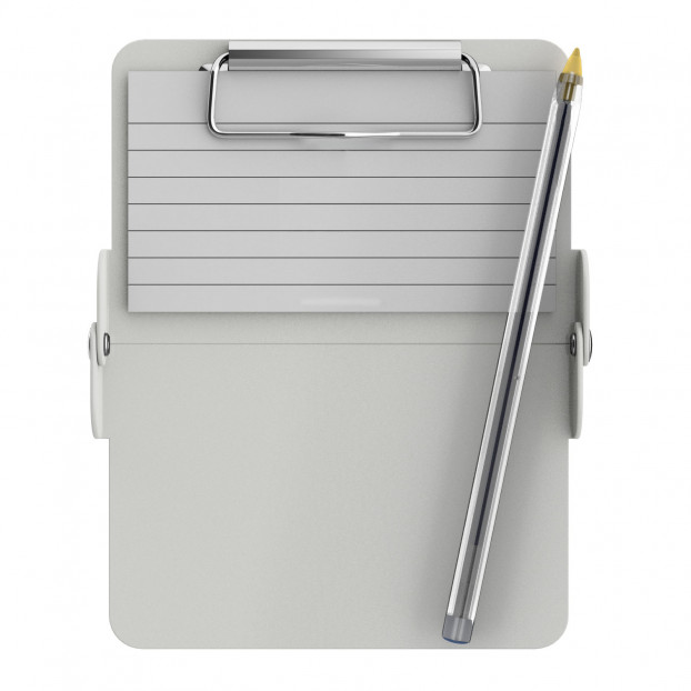 Nano ISO Clipboard   White