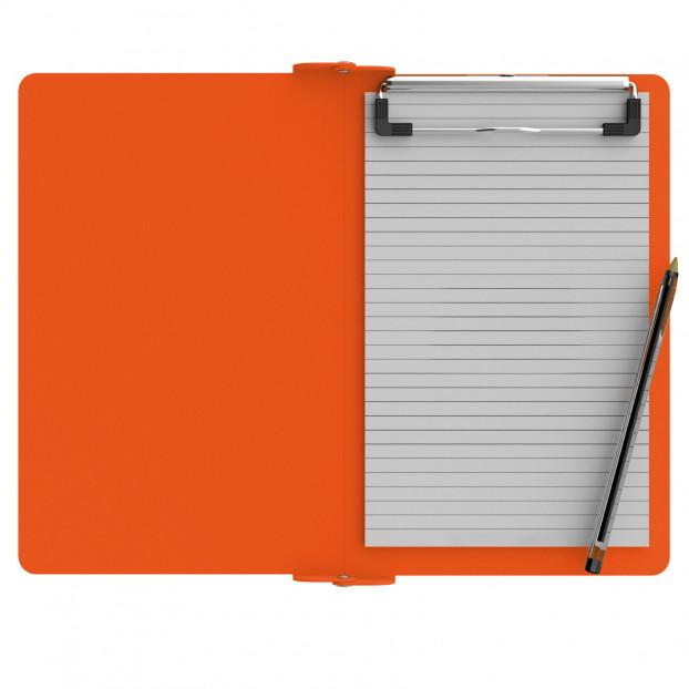 Folding Memo ISO Clipboard | Orange