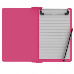 Folding Memo ISO Clipboard | Pink