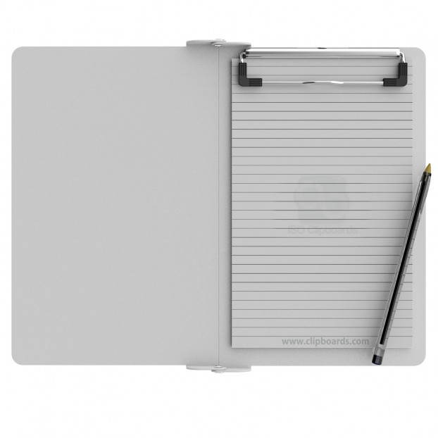 Folding Memo ISO Clipboard | White