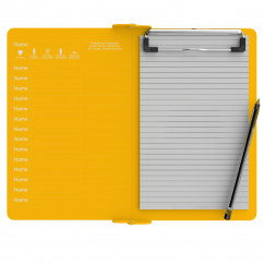 Camp ISO Clipboard | Yellow