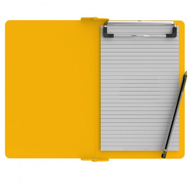 Folding Memo ISO Clipboard | Yellow