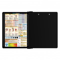 WhiteCoat Clipboard® - Left Folding Ledger - Nursing Edition