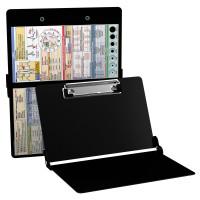 WhiteCoat Clipboard - BLACK - EMT Edition